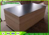 Chino impermeabilizar la madera contrachapada hecha frente película hecha frente película de la madera contrachapada de 12mm/15mm/18mm/21m m (Finlandia) con un antirresbaladizo lateral