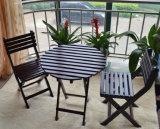 Mesa de centro ao ar livre e jardim dobrado cadeiras da tabela e das cadeiras ajustados (M-X1052)