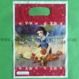 Weißes LDPE Carrier Plastic Bags mit Cartoon Printing