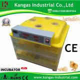 La tenue de 96 oeufs de haute qualité automatique de l'énergie mini-couveuse numérique enregistrée grand marché pour 96 pcs Les oeufs des oiseaux (KP-96)