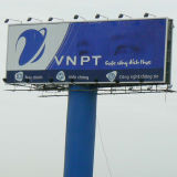 ポーランド人(F3V-131S)との屋外のAluminium三Vision Billboard