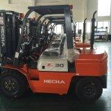 De Vorkheftruck van Hecha Diesel van 3 Ton Vorkheftruck met Motor Isuzu