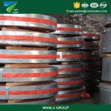 Bandes galvanisées d'acier faites en la Chine
