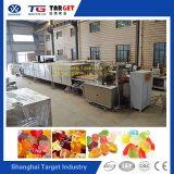 Urso da geléia da certificação do Ce ISO9001 que faz a máquina com molde do Teflon