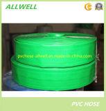 Tuyau agricole flexible coloré de pipe d'irrigation de l'eau de PVC Layflat