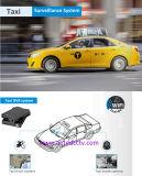 Alta qualidade 2/4 de sistema de vigilância video do carro do cartão do SD da canaleta com registrador GPS 3G/4G/GPS de seguimento WiFi