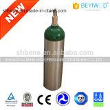 Cilindro de oxigênio de alumínio para uso médico