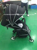 Recht zusammenklappbarer Aluminiumlegierung-Baby-Spaziergänger