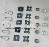 Гальванизированное вспомогательное оборудование стальной поддержки места Q235 паллета Braided