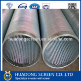 Оцинкованные стальные трубы фильтра воды/MOD114мм Джонсон Тип экрана