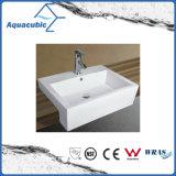 Dispersore di lavaggio di ceramica del bacino di arte del Governo e della mano del grembiule (ACB8325)