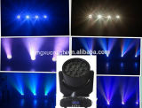 19X12W RGBW Moving Head LED Beam Light