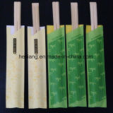 Différentes tailles Paquet de PE Placage Bambou Jambières en bambou jetables