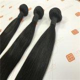 ブラジルのRemyの人間の毛髪の織り方の束