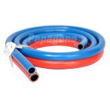PVC Doble soldadura de la manguera de oxígeno y acetileno