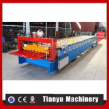 Maquinaria de la fabricación de placa esmaltada para cubrir el rodillo que cubre que forma la máquina