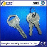 Marca láser máquina para la llave de metal