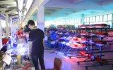 système de d'éclairage télescopique pneumatique élevé monté automatique élevé de tour légère de mât de 1.2m