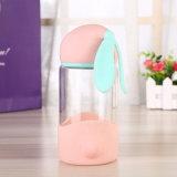 Piccola bottiglia di acqua di vetro sveglia di figura 300ml del gatto (CHB8005)