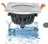 La stanza da bagno impermeabile 90-265V 7W LED della toilette IP65 giù si illumina