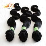 Parti naturali dei capelli di Prive 7A Remy dei capelli dell'onda peruviana poco costosa del corpo