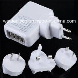 4ports USB Portable AC Power Adapter