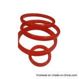 Les joints toriques de rouge avec une bonne flexibilité