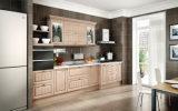 Mobilia della cucina dell'involucro del vinile degli armadi da cucina del PVC di disegno moderno (zc-045)