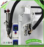 Macchina di rifornimento a gettare di riscaldamento del vaporizzatore di Cbd della cartuccia tre automatici