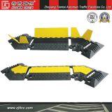 Vitesse de voiture de caoutchouc industriels de la sécurité des protecteurs de câblage & Traffic Calming Dispositifs pour l'angle (CC-B13)