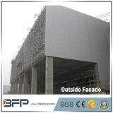 Telhas cinzentas escuras da parede da fachada do granito da pedra G654 da fachada da alta qualidade