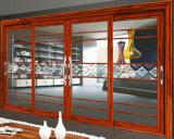 2 أثر ألومنيوم [سليد دوور] مع زجاج مزدوجة لأنّ دار