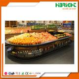 Solution de conception d'affichage du magasin de détail pour le supermarché