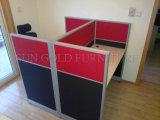 Petit bureau moderne pour 4 personne Station de travail de l'armoire table (SZ-WST818)