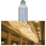 30W luz del aluminio LED/bombilla plásticas con E27/B22