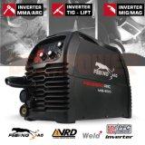 Новый миг-200 Инвертор сварочного аппарата 180А газовой дуговой сварки ММА Gasless машины