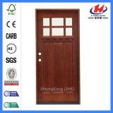 Porta de vidro moldada artesão da construção (JHK-G32-5)