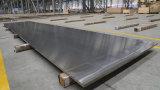 6063 T6-T651 высокой плоскостности алюминиевый лист/пластины для строительного материала