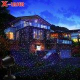 Les lumières de Noël projecteur laser programmable IP65 des lumières laser de jardin en plein air