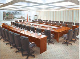 A personalização da sala de reuniões de madeira mesa de reunião reunião de negócios de turismo