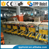 La pompe manuelle hydraulique Transpalette petite table de levage du chariot élévateur