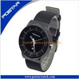 Horloge het Van uitstekende kwaliteit van de Verzekering van de handel met de Echte Band van het Leer