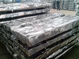 Colorare il tetto rivestito del metallo della lamiera di acciaio di Gi/Gl esportato in Indonesia