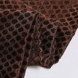 Новая ткань софы цвета кофеего жаккарда синеля конструкции