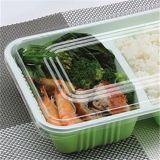 使い捨て可能なお弁当箱か皿を生物分解を起こしなさい