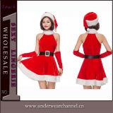 2018 het Volwassen Europese Kostuum van de Uniformen van de Kleding van Kerstmis van Kerstmis Sexy (TDD80759)