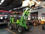 Zl08f 0,8 ton Radlader Paylader Mini para la granja y el jardín