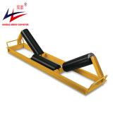 Prueba de polvo de buena calidad offset de 3 rollos Troughing Transportador de rodillos de transporte