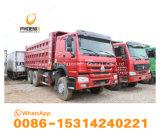 Sinotrukの先生の市場のためのコンゴ10個のタイヤの強い品質の低価格のHOWOによって使用されるダンプトラックのダンプカー