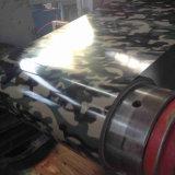 Camuflar a bobina de chapa de aço do telhado de metal